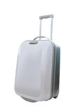 Travel luggage isolated on the white background Royalty Free Stock Photo