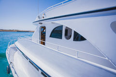 Travel .Luxury boat Royalty Free Stock Images