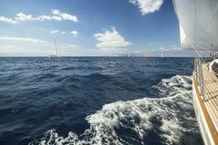 Travel. Luxury Lifestyle. Salling. Holiday. Sea. Stock Images