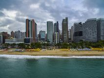 Travel memories of the city of Fortaleza, state of Ceara Brazil South America. Travel theme. Places to visit and. Travel memories. Travel memories of the city of royalty free stock images