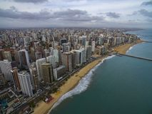 Travel memories. Travel memories of the city of Fortaleza, state of Ceara Brazil South America. Travel theme. Places to visit and remember royalty free stock photos