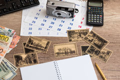 Travel memories vintage Stock Photo