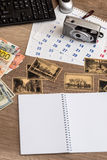 Travel memories vintage Royalty Free Stock Photos
