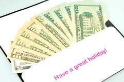 Travel money Royalty Free Stock Photo
