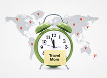 Travel more Royalty Free Stock Photos