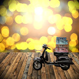Travel with motorcycles concept Royalty Free Stock Photos