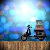 Travel with motorcycles concept Royalty Free Stock Photo