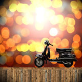 Travel with motorcycles concept Stock Photos