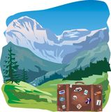 Travel - mountains Royalty Free Stock Images