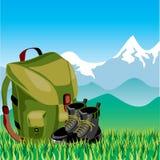 Travel mountan Stock Images