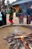 Travel in Naminara republic, Korea Royalty Free Stock Images
