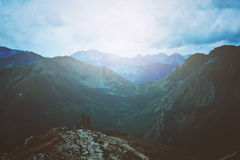 Travel and nature in mountains. Royalty Free Stock Photos