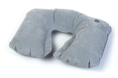 Travel neck pillow Royalty Free Stock Photo