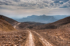 Travel in Negev desert, Israel Royalty Free Stock Image