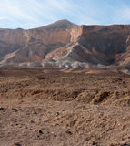 Travel in Negev desert, Israel Stock Image