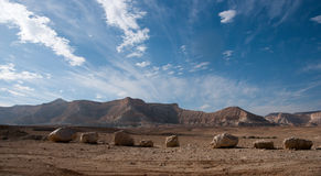 Travel in Negev desert, Israel Royalty Free Stock Photography