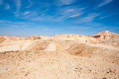Travel in Negev desert, Israel Stock Photography