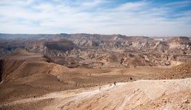 Travel in Negev desert, Israel Stock Photo