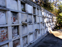 Travel-New Orleans-Louisiana-Graveyards. Old New Orleans Graveyard at Odd Fellows Rest on Canal Street Stock Image