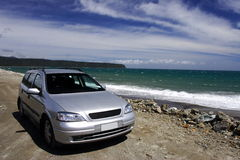 Travel in New Zealand Royalty Free Stock Photo