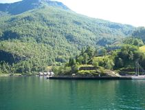 Travel in Norway. Norwegian mountains Stock Photos