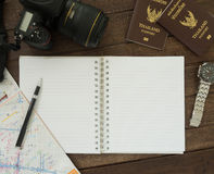 Travel Notebook Stock Images