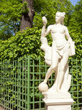 Travel notes. Russia. Statue in the summer park. Saint-Petersburg, Russia Royalty Free Stock Photo