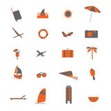 Travel object  illustration Royalty Free Stock Images