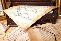Travel objects Royalty Free Stock Photo