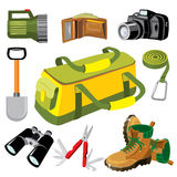 Travel_objects royalty illustrazione gratis