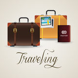Travel objects Stock Photo