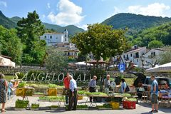 Travel in old italian villages
