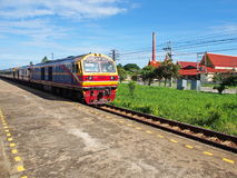 Travel, Old train station in Thailand. You can go to anywhere in Thailand by train Royalty Free Stock Photography
