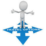 Travel options Royalty Free Stock Photos