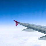 Travel over clouds Royalty Free Stock Image