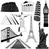 Travel over the world Stock Image