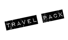 Travel Pack rubber stamp Royalty Free Stock Image