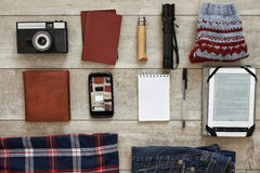 Travel pack Royalty Free Stock Image