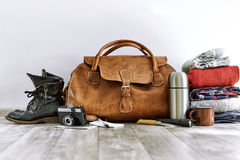 Travel pack Royalty Free Stock Photos