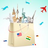 Travel package Royalty Free Stock Photos