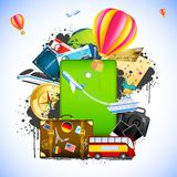 Travel Package Royalty Free Stock Photo