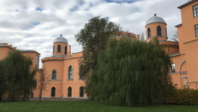 Travel Palace of Catherine the great. Palace for overnight stays at the Imperial court during the crossings from St. Petersburg to Tsarskoye Selo. A small two stock video
