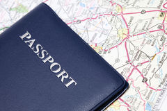 Travel passport Royalty Free Stock Image