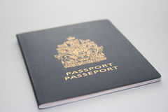 Travel passport document Royalty Free Stock Photos