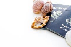 Travel passport Stock Photos