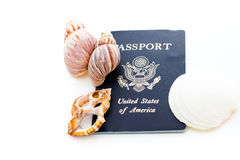 Travel passport Stock Photography