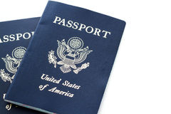 Travel passport Stock Photos