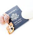 Travel passport Royalty Free Stock Photography