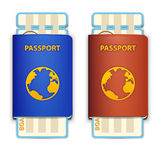 Travel passports Royalty Free Stock Photography