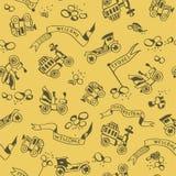 Travel pattern Stock Photos